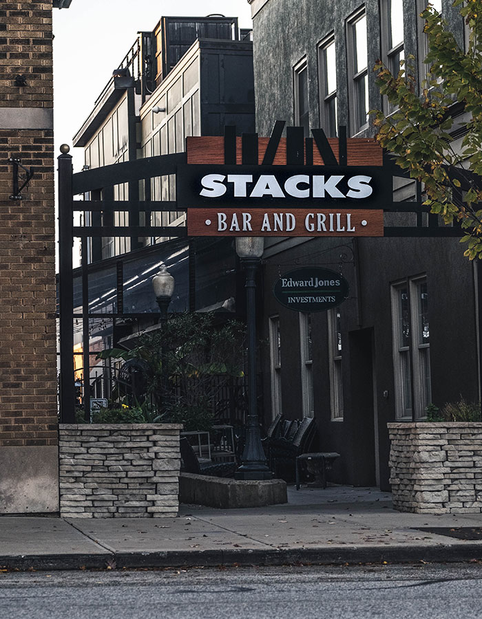 Stacks Restaurant Downtown Valpo